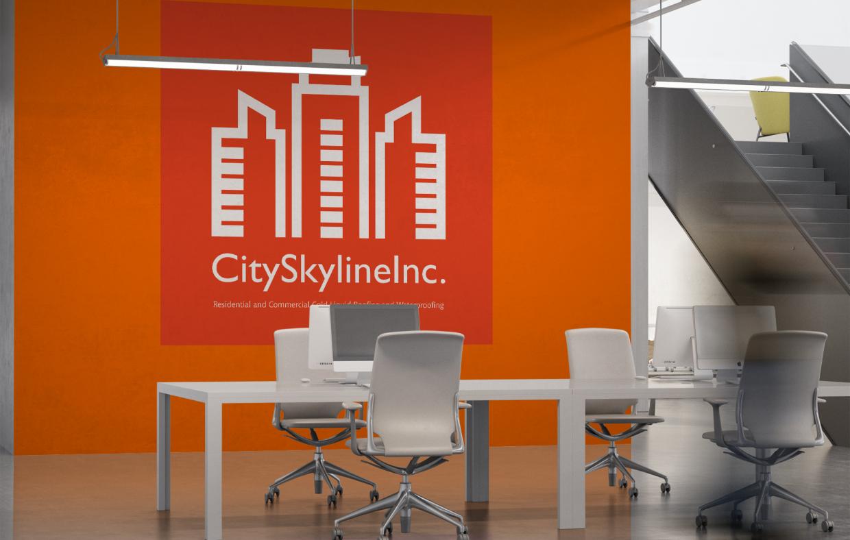 City Skyline Inc. Projekt Wnętrz Firmowych
