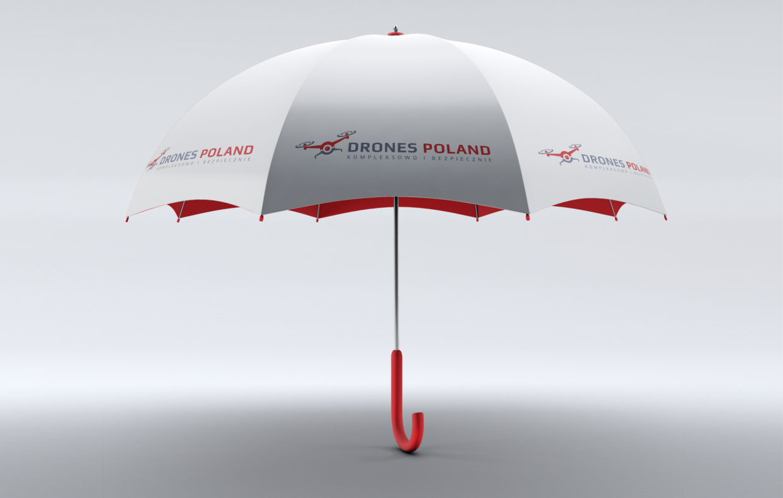 Parasol Reklamowy - Drones Poland