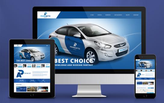 Prime Avto Parts Strona Internetowa